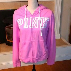 Pink Hoodie by Victoria's secret L